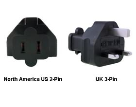 Image 1 of North America Us To Uk Power Adapter Plug PA-6021