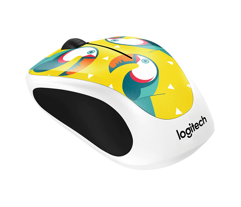 Image 1 of Logitech M238 Wireless Moue Party Collection Toucan 910-004725 910-004725