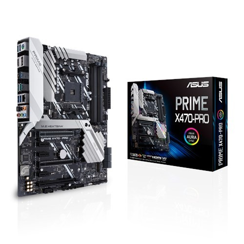 Image 1 of Asus Amd Am4 Atx Motherboard With M.2 Heatsink Ddr4 3600mhz Dual M.2 Hdmi Sata 6gbps And Usb 3.1 90MB0XG0-M0UAY0