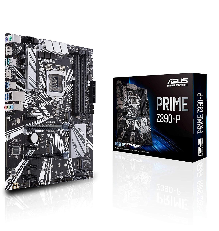 Image 1 of Asus Prime-z390-p Lga 1151 Atx Motherboard - Z390 Chipset - 4x Dimm Ddr4 Up To 64gb - 4x Sata PRIME Z390-P
