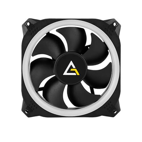 Image 1 of Antec Prizm 140 Argb 2+c. 2 In1 Pack With 2x 12cm Rgb Dual Ring Pwm Fans And 1x Fan Controller Prizm 140 ARGB 2+C