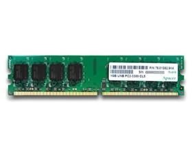 Image 1 of Apacer Ddr2 Pc5300-2gb 667mhz 128x8 Cl5 G Retail Pack CL.02G2A.F0M