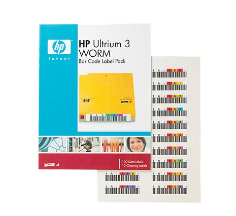 Image 1 of Hp Ultrium 3worm Bar Code Label Pac Hp Ultrium 3 Worm Bar Code Label Pack Q2008a