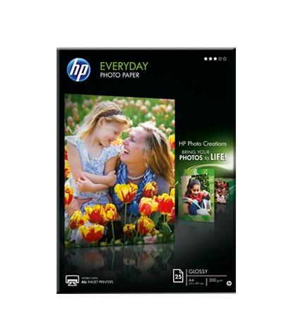 Image 1 of Hp Q5451a Everyday Glossy Photo Paper Q5451A