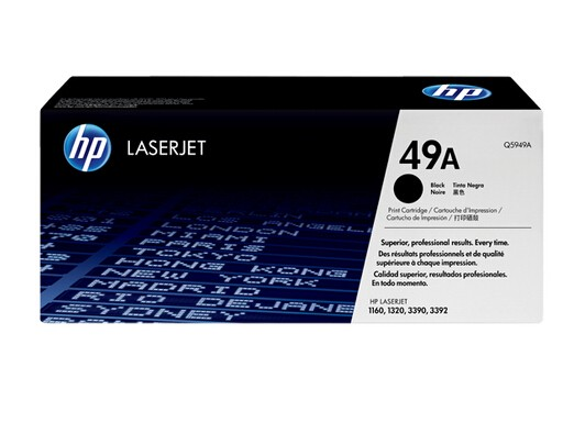 Image 1 of Hp Q5949a Toner Cartridge For Lj1160/ 1320, 2500 Page Q5949A