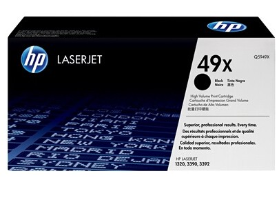 Image 1 of Hp Q5949x Black Toner Cartridge For Lj1320, 6000 Pages Q5949X
