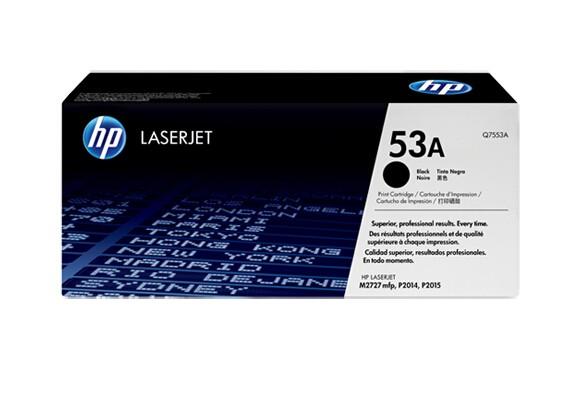 Image 1 of Hp Laserjet P2015 Black Cartridge 15464 Q7553A