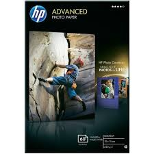 Image 1 of Hp Q8008a Hp Advanced Gloss Photo Paper 60 Sht A6 Q8008A