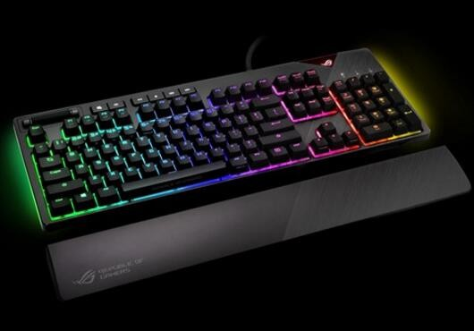 7f5fd3f958e ... Asus Rog Strix Flare Rgb Mechanical Gaming Keyboard With Cherry Mx  Switches ( · Zoom