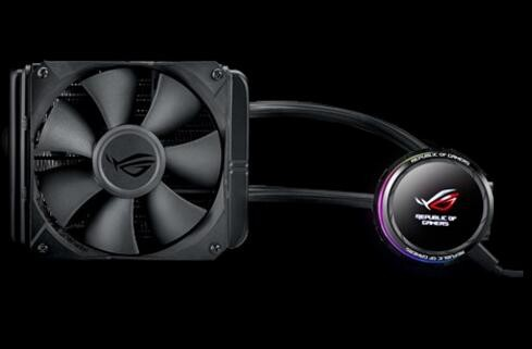 Image 1 of Asus Rog-Ryuo-240 Aio Oled Liquid Cpu Cooler - 2X 120Mm Fan (800 2500 Rpm +/ - 10 %) Fan Static ROG RYUO 240
