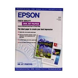 Image 1 of Epson S041069 Photo Quality Inkjet Paper Super A3 329x483mm, 100 Sheets C13S041069