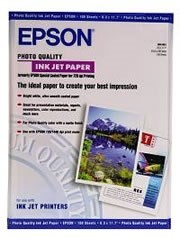 Image 1 of Epson S041079 Photo Quality Inkjet Paper A2 30 Sheets C13S041079