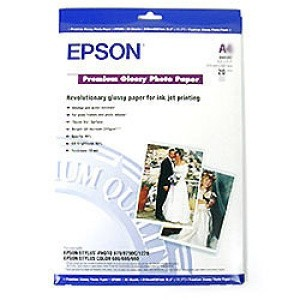 Image 1 of Epson S041289 Premium Glossy Photo Paper A3+, 20sheets C13S041289