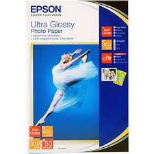 Image 1 of Epson Ultra Glossy Photo Paper 4x6in 50 Sheets S041943 C13S041943