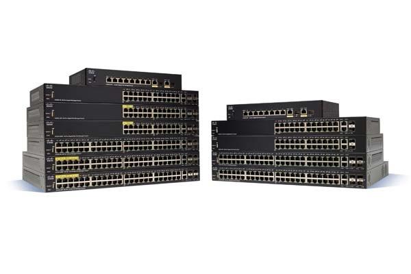 Image 1 of Cisco Sf350-24p 24-port 10/100 Poe Managed Switch Sf350-24p-k9-au SF350-24P-K9-AU