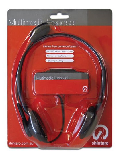 Image 1 of Shintaro Sh-102m Stereo Headset SH-102M