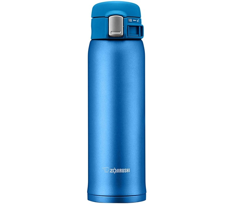 Image 1 of Zojirushi Stainless Steel Hot & Cold Retention Mug 480ML Matte Blue SM-SD48-AM SM-SD48-AM