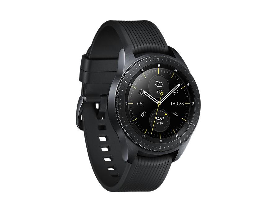 Image 1 of Samsung Galaxy Watch - Lte 42Mm - Midnight Black Sm-R815Fzkaxsa SM-R815FZKAXSA
