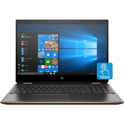 Image 1 of Hp Spectre X360 13.3 Fhd Touch I7-8565U 16Gb Onboard Ssd 512Gb Dark Ash & Rose Gold W10 Pro 1/ 5SB75PA