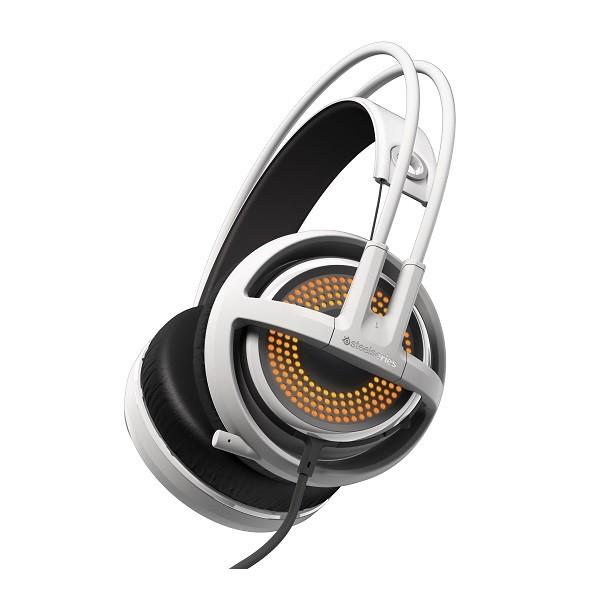 Image 1 of Steelseries White Siberia 350 Usb Headset Ss-51204 SS-51204