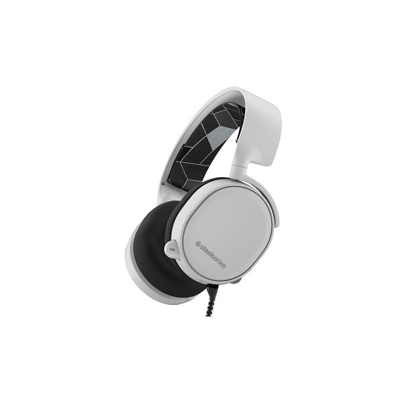Image 1 of Steelseries White Arctis 3 Multi Platform 7.1 3.5mm Headset Ss-61434 SS-61434