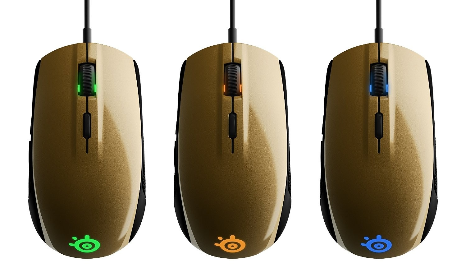 f940400f41c Steelseries Alchemy Gold Rival 100 Rgb 4000dpi Gaming Mouse Ss-62336