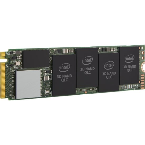 Image 1 of Intel 660p Series Ssd M.2 80mm Pcie 512gb 1500r/ 1000w Mb/s Retail Box 5yr Wty Ssdpeknw512g8x1 SSDPEKNW512G8X1