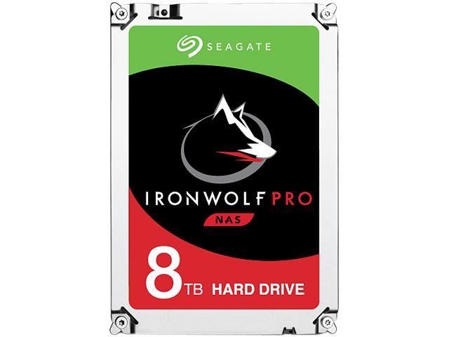 "Image 1 of SEAGATE IRONWOLF NAS PRO INTERNAL 3.5"" SATA DRIVE, 8TB, 6Gb/ s, 7200RPM, 5YR WTY ST8000NE0021 ST8000NE0021"