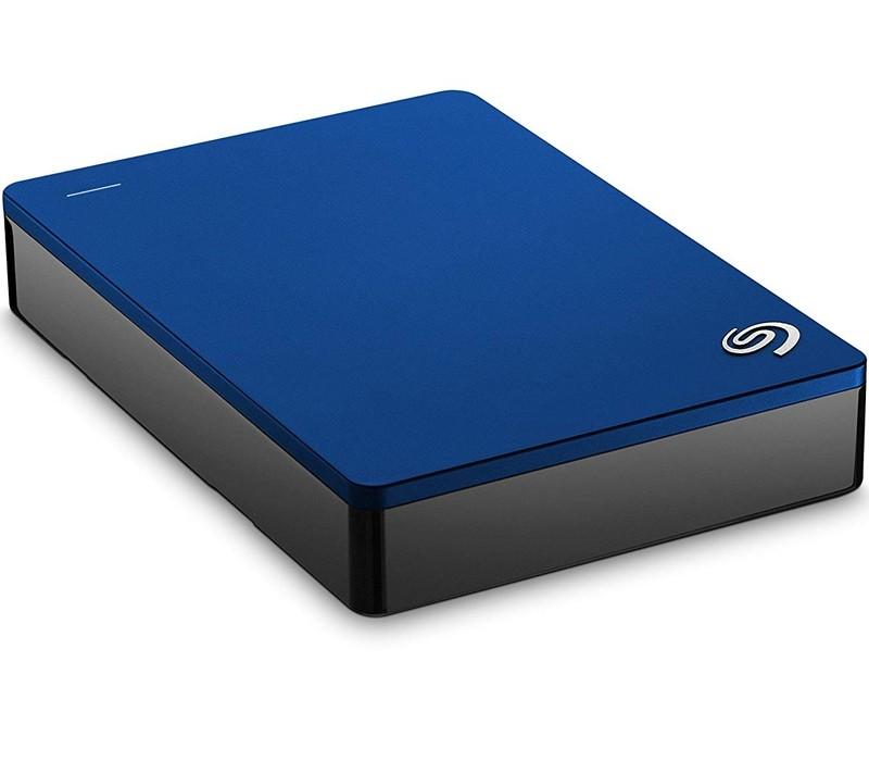 Image 1 of Seagate Backup Plus Portable 5TB External Hard Drive USB3.0 Blue STDR5000302