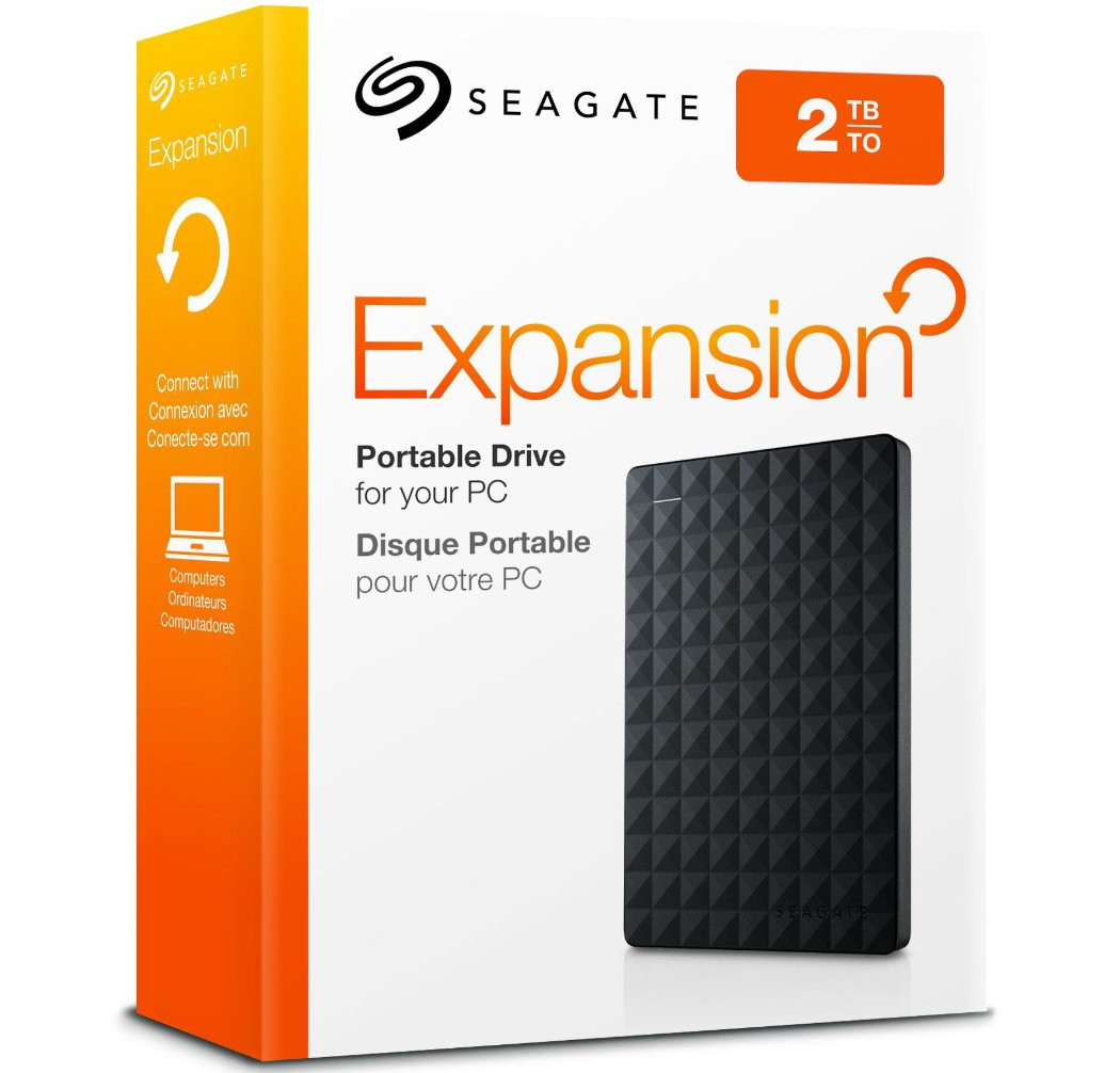 Image 1 of Seagate Expansion 2TB USB3.0 Portable External HDD STEA2000400 STEA2000400
