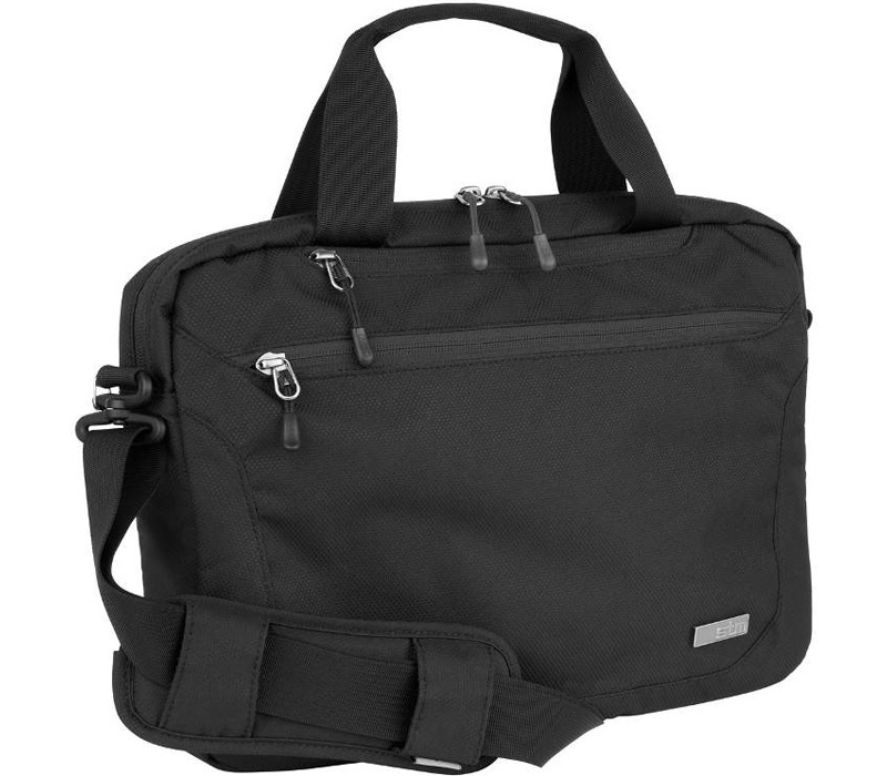 """Image 1 of STM Swift Shoulder Bag for 11"""" Laptops/ Tablets Black STM-112-084K-01 STM-112-084K-01"""