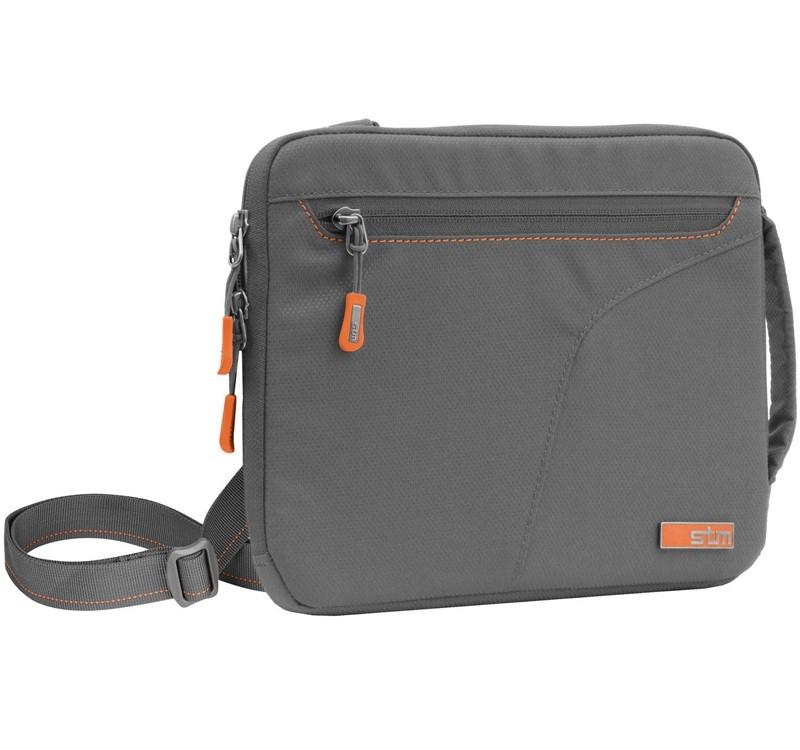 Image 1 of STM Blazer Padded Sleeve With Removable Carry Strap For iPad/ Tablet Grey STM-214-029J-14 STM-214-029J-14