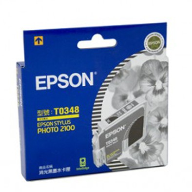 Image 1 of Epson T034890 Ink Matte Black Sp2100, 440 Pages_ C13T034890