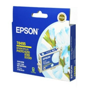 Image 1 of Epson T049590 LIGHT CYAN INK CARTRIDGE FOR RX630/ RX510/ R310/ R210, 430pages C13T049590