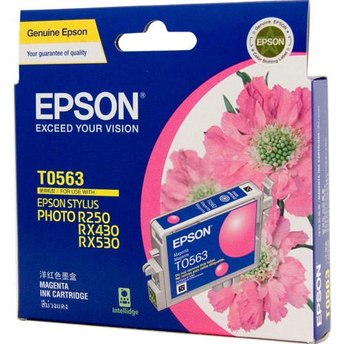 Image 1 of Epson T056390 Magenta Ink Cartridge For Rx430 290 Pages C13T056390