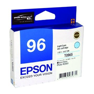 Image 1 of Epson T096590 Light Cyan Ink Cartridge For Stylus Photo R2880 C13T096590