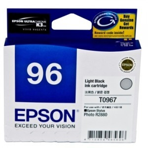 Image 1 of Epson T096790 Light Black Ink Cartridge For Stylus Photo R2880 C13T096790