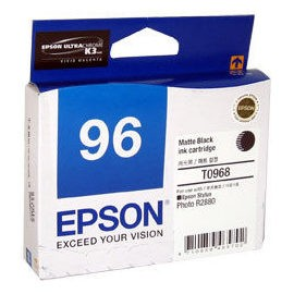 Image 1 of Epson T096890 Matte Black Ink Cartridge For Stylus Photo R2880 C13T096890