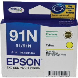 Image 1 of Epson T107492 Epson Stylus C90/ CX5500 Low Cost Yellow Ink Cartridge C13T107492