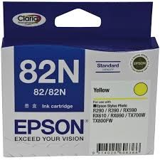 Image 1 of Epson T112492 R290/ R390/ Rx590/ Rx610/ Rx690 Yellow Standard C13T112492