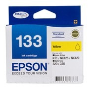 Image 1 of Epson T133492 Yellow Ink Cartridge For N11, Nx125, Nx420, Workforce 320, 325 C13T133492