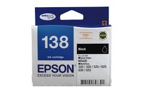 Image 1 of Epson T138192 High Capacity Black Ink For Nx420, Workforce 60, 320, 325, 525~ C13T138192