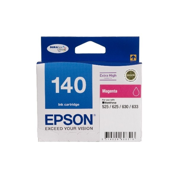 Image 1 of Epson T140392 Extra High Capacity Magenta Ink, Workforce 60, 525, 625, 630, 633 C13T140392