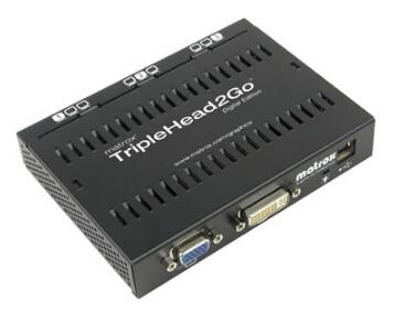 Image 1 of Matrox Triplehead2go Digital Edition T2G-D3D-IF