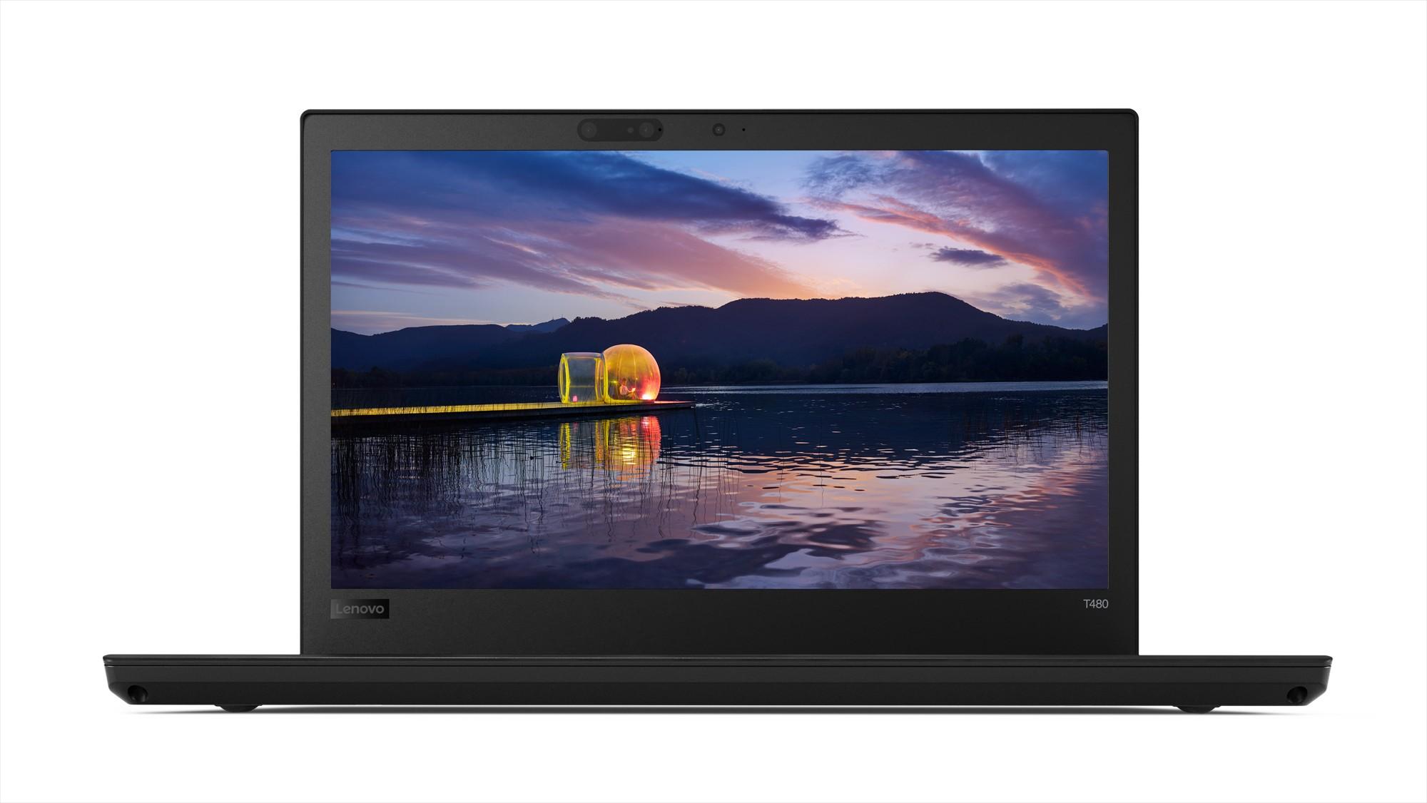 """Image 1 of Lenovo T480 I7-8550 14"""" Fhd 256gb Ssd 8gb Ram Intel Hd Wifi+bt 4g Lte W10p64 3ydp 20l5004dau 20L5004DAU"""