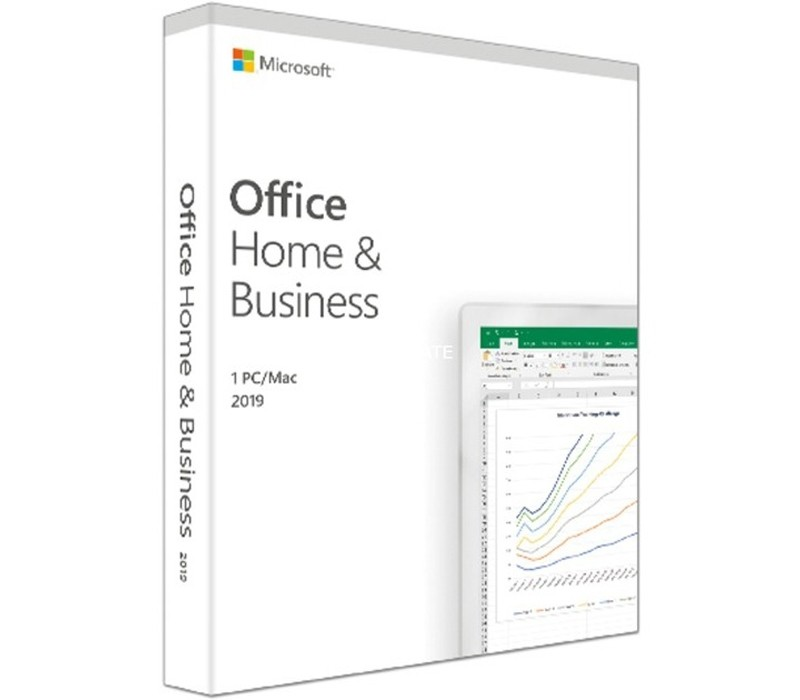 Image 1 of Microsoft Office Home & Business 2019 Retail Box Medialess, Product Key T5D-03251 T5D-03251
