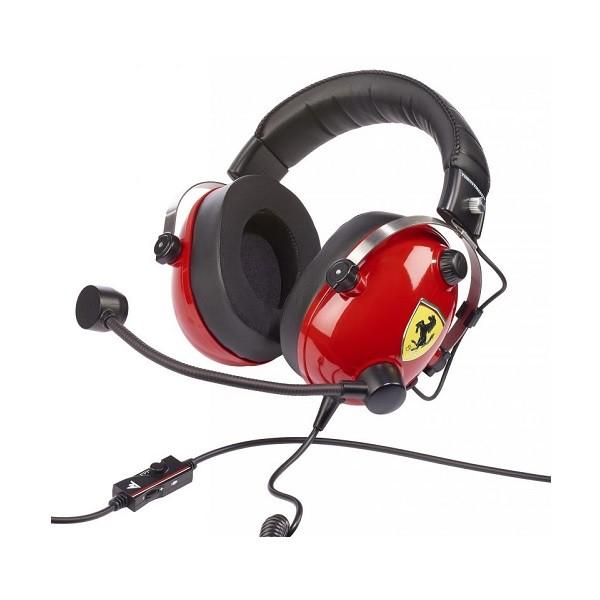 Image 1 of Thrustmaster T.Racing Scuderia Ferrari Edition Gaming Headset Tm-4060105 TM-4060105