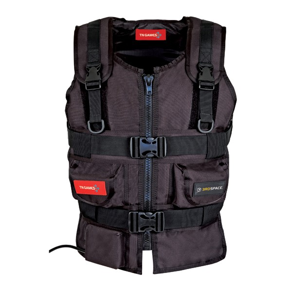 Image 1 of Tn Games 3rd Space Gaming Vest Black Small/ Medium Tn-vest-blk-sm TN-Vest-Blk-SM