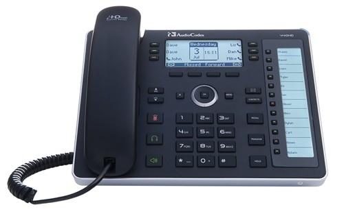 Audiocodes SFB 440HD IP PHONE POE GBE BLACK