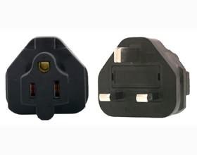 Image 1 of Us 3 Pin To Uk 3 Pin Plug Adapter PA-6015